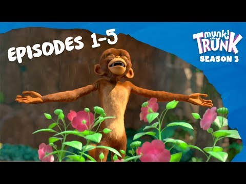 M&T Full Episodes S3 01-05 [Munki And Trunk]
