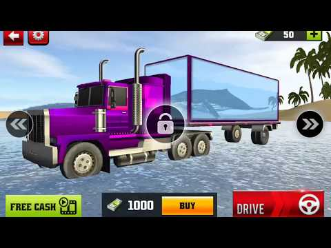 Blue Sea Whale Transport Truck Simulator | Best Android Gameplay HD