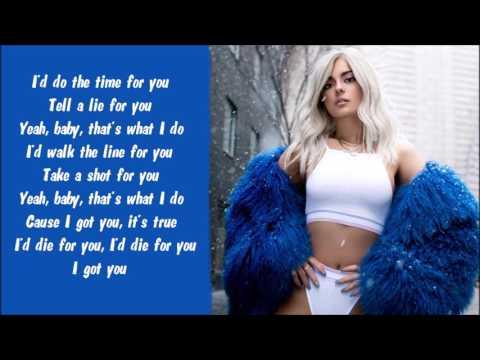 Bebe Rexha - I Got You Karaoke / Instrumental with lyrics