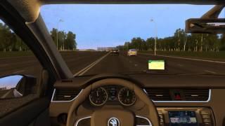 City Car Driving 1.5.3 - Skoda Octavia 1.8 TSi Style | Normal Driving | 60FPS
