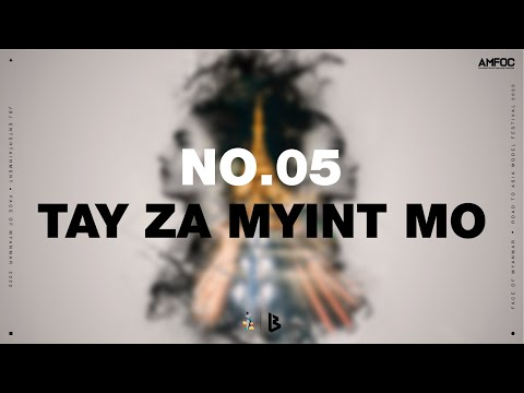 Contestant No.5 / Tay Za Myint Mo (Untact Face of Myanmar 2020)