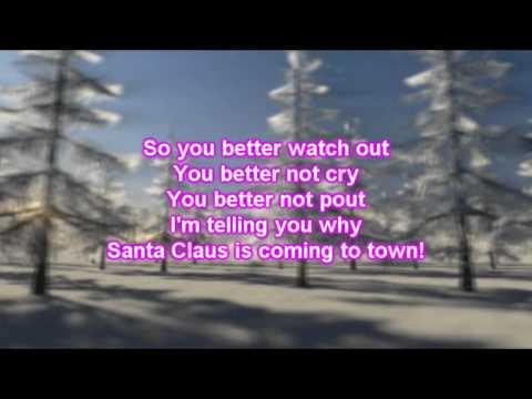 Alan Jackson - Santa Claus Is Comin' To Town (Lyrics)