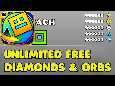 Geometry Dash Hack - Unlimited Orbs And Diamonds Android & IOS (no Root)