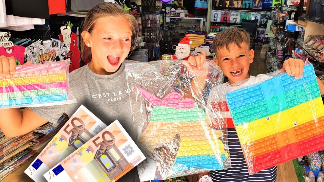 CHALLENGE: Wat Kopen Met 100 EURO In 30 MINUTEN!