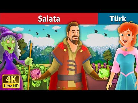 The Salata | The Magic Salad in Turkish | Peri Masalları | Türkçe peri masallar