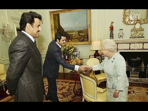 Queen meets Emir of Qatar among Isil funding allegations