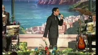 neomelodico Tony Parisi al festival internazionale della canzone napoletana teatro bolivar