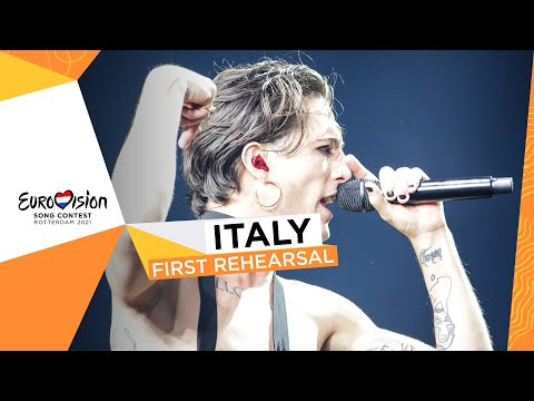 Måneskin - Zitti E Buoni - First Rehearsal - Italy ?? - Eurovision 2021