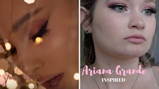 Ariana Grande No Tears Left to Cry Inspired Makeup💧|| Kay J