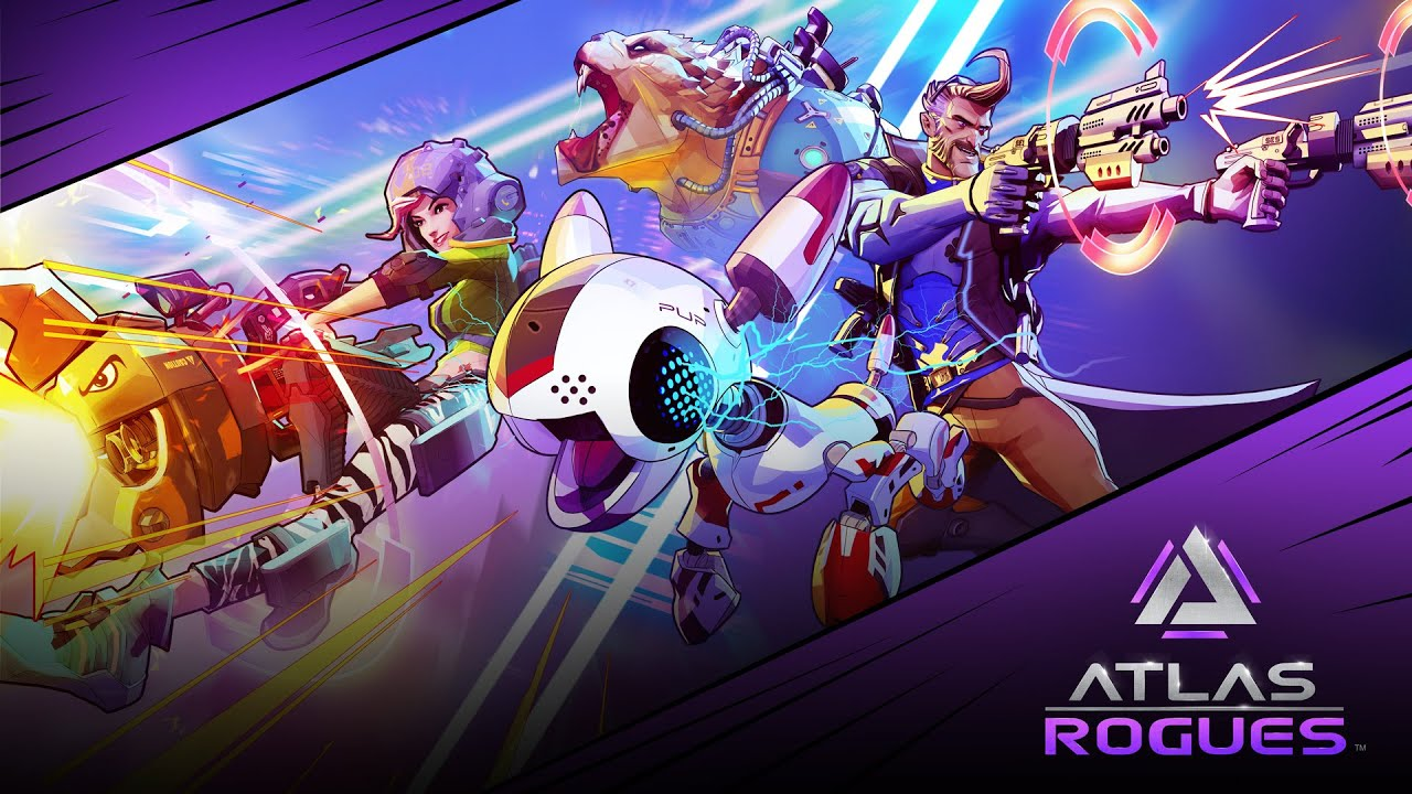 On Wednesday 18th November, Atlas Rogues launches into Early Access on Glyph and Steam.