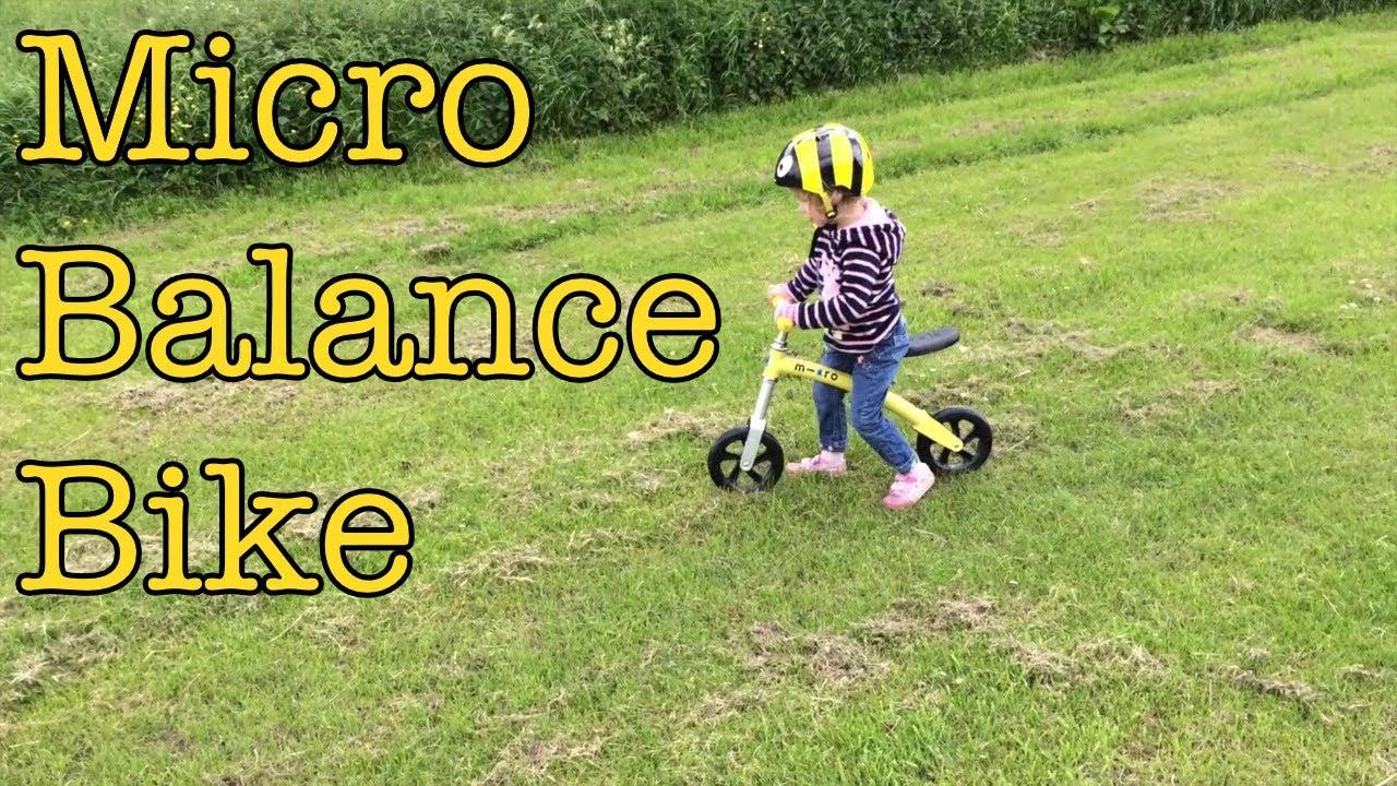 Micro Balance Bike Youtube