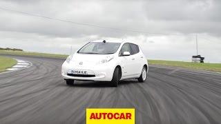 Will it Drift?: Nissan Leaf - Can emission zero be a sideways hero?