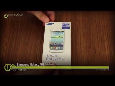 Samsung Galaxy Win Kutu İçeriği