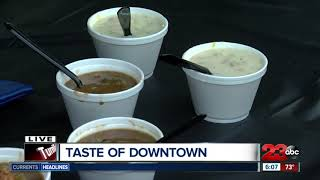 Taste of Downtown weather forecast