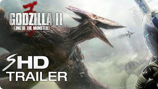 GODZILLA 2: King of the Monsters (2019) Teaser Trailer #1 - Monster Movie [HD] Concept