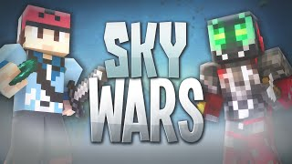 "Minecraft SKY WARS! #1 ""WE KEEP ON DYING!"" - w/ TheGhettoGamer"