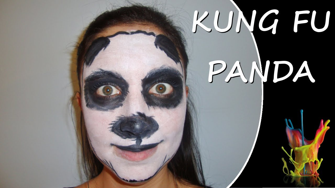 Picture Of Face Paint Panda
