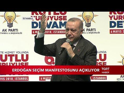 İşte AK Parti'nin Seçim Manifestosu