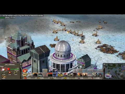 Empire Earth Live #6 | 4 games:  ww1 / dark / prehistoric / middle
