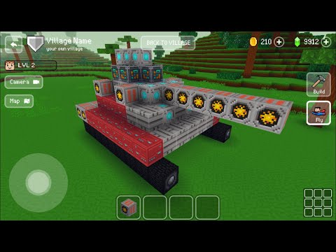 Block Craft 3D : Building Simulator Games For Free Gameplay #479 (iOS & Android) | Robot Tank