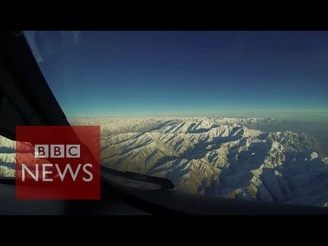 Beautiful aerials of Hindu Kush mountains - BBC News