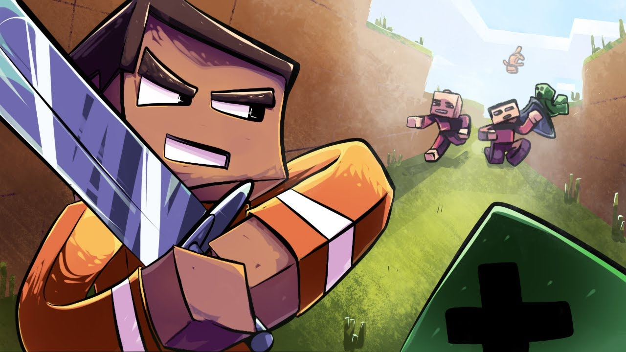 THE NEW MINECRAFT DUNGEONS GAME IS ACTUALLY AMAZING!