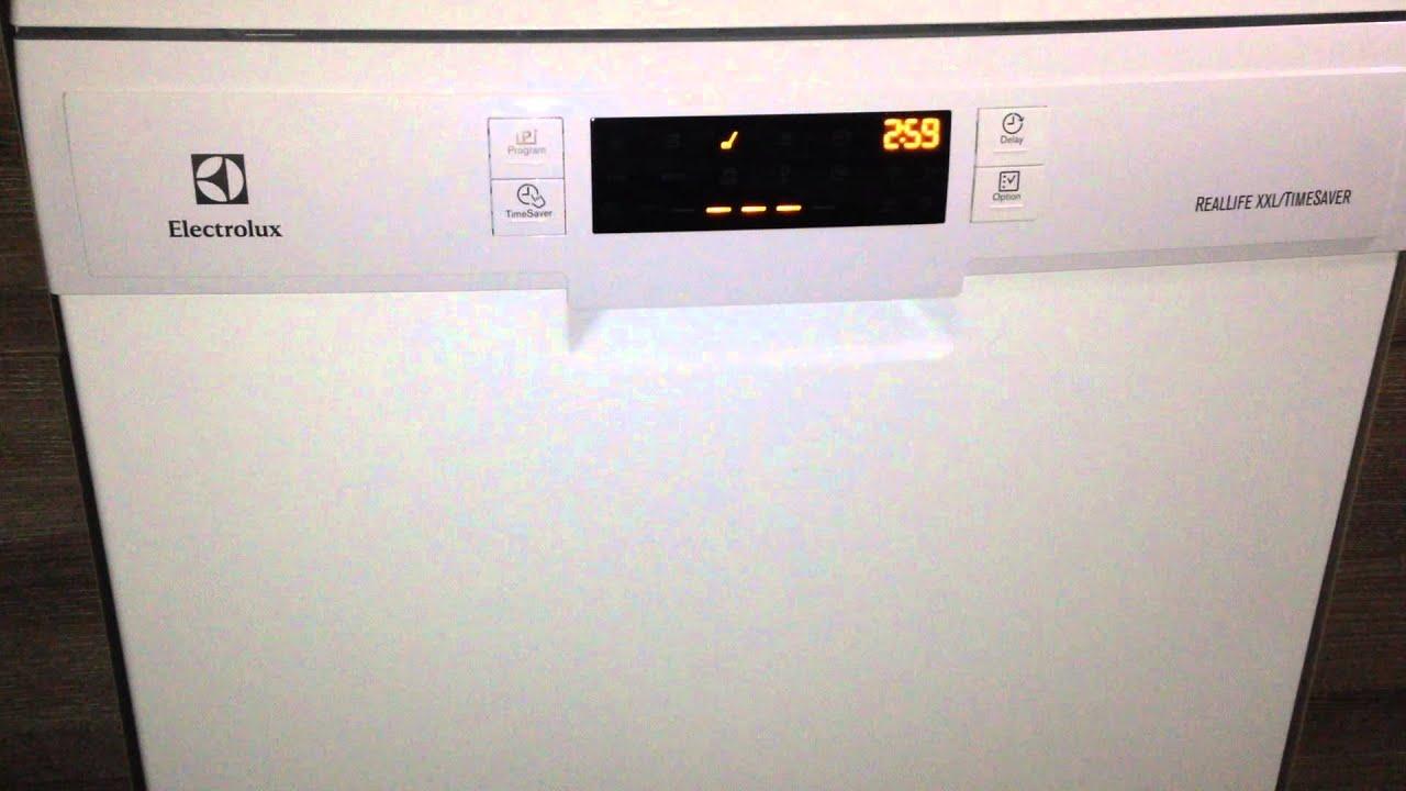 eco 50 load start electrolux esf6600row dishwasher doovi. Black Bedroom Furniture Sets. Home Design Ideas