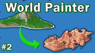 world Painter Tutorial - #2 - Importing, Expanding & Merging Existing Worlds!