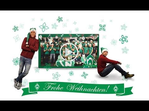 Frohe Weihnachten Werder Bremen.Werder Bremen Singt Jingle Bells Youtube