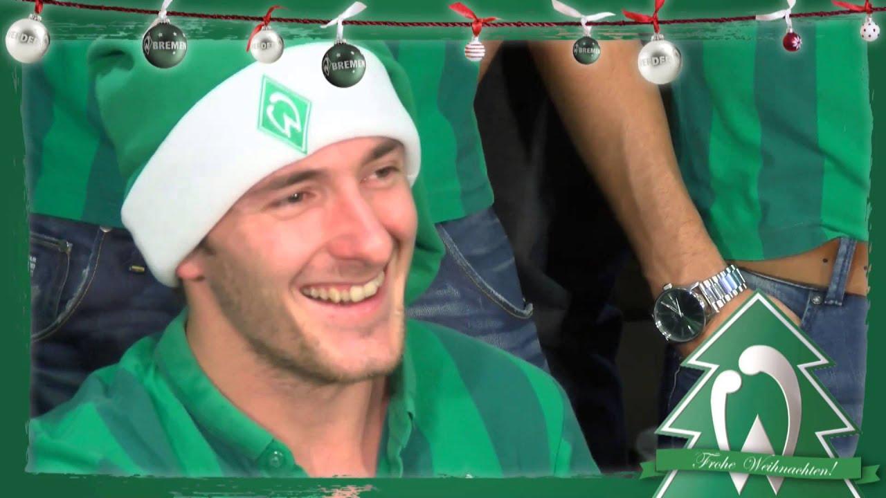 Frohe Weihnachten Werder Bremen.Werder Bremen Singt Jingle Bells