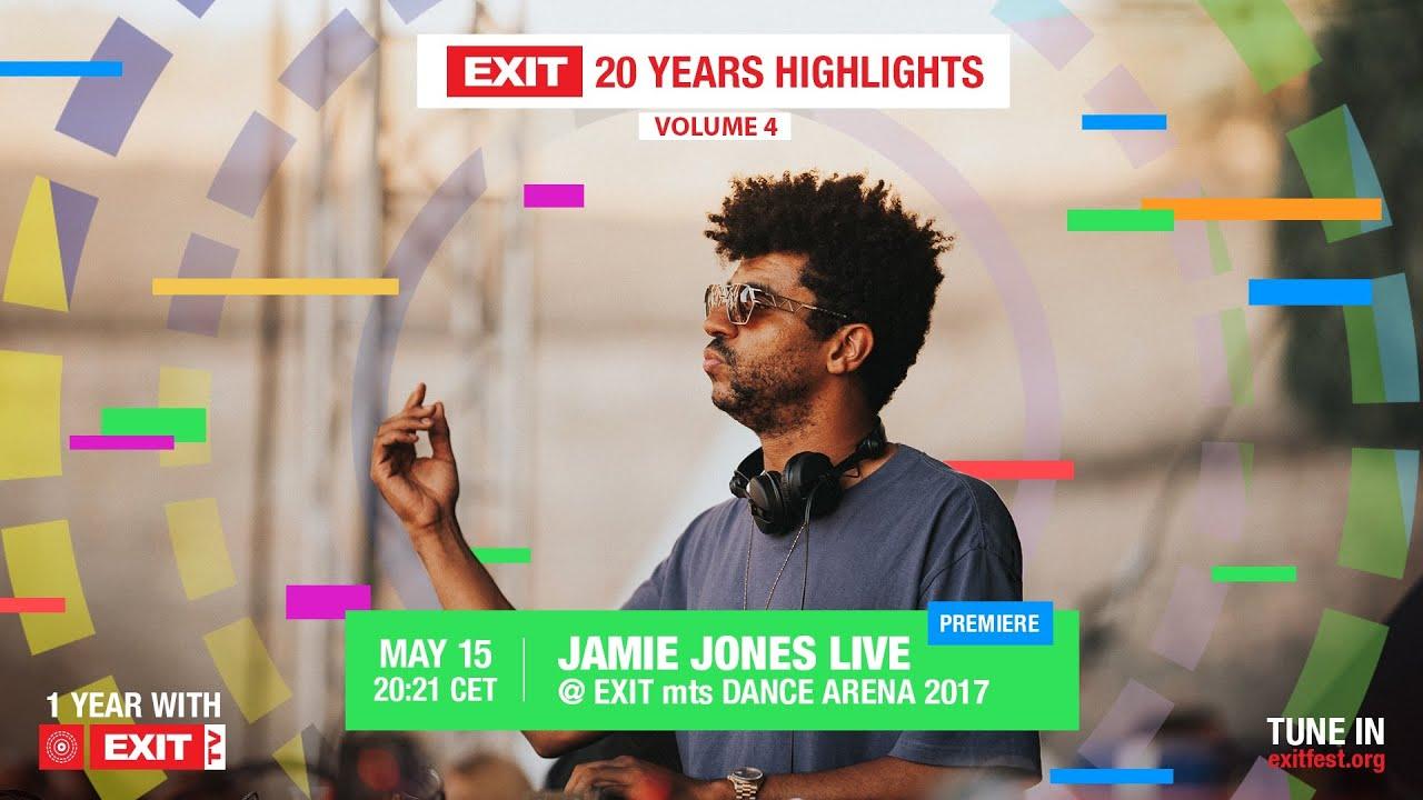 Jamie Jones live @ mts Dance Arena 2017 | EXIT 20 Years Highlights Volume 4 (teaser)