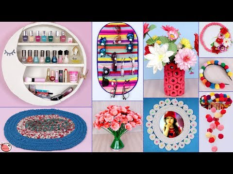 Multi Usefull Idea !! 10 DIY Room Decor & Organizer || DIY Projects !!!