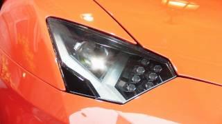 Arancio Argos Lamborghini Aventador LP700-4 - 1080p