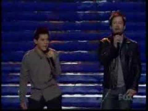 American Idol 7 - David Cook Sings With Archuleta Finale New