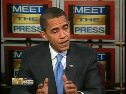 Obama MTP Interview: Economy a big problem will get worst