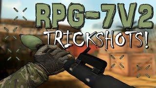 5 Trickshots with the RPG-7V2! [Bullet Force]