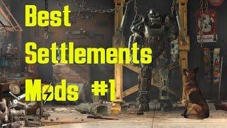Fallout 4 - Моды для поселения - Часть 1?