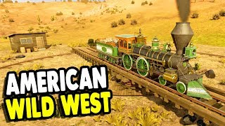 Let's Settle the OLD WILD WEST with STEAM TRAINS | Railway Empire Gameplay Launch Week