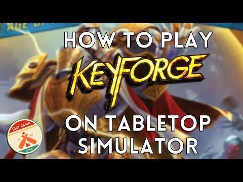 How To Play Keyforge On Tabletop Simulator: Setup, Basics & Tips - Crit Camp