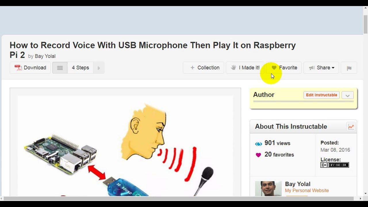 how to record voice with usb microphone then play it on raspberry pi 2 youtube. Black Bedroom Furniture Sets. Home Design Ideas