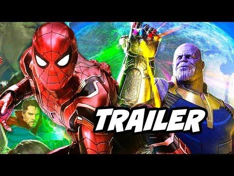 Avengers Infinity War Trailer Spider-Man vs Thanos Black Order Breakdown