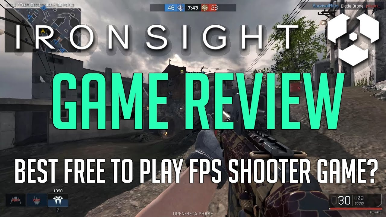 Ironsight Review | Best Free to Play FPS Shooter to date?