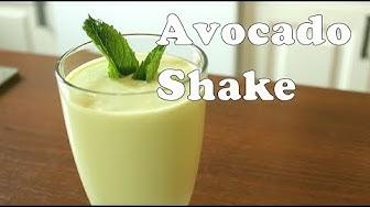 Gesunder AVOCADO SHAKE und Gesundheitsinfo über Avocado - Canans Rezepte