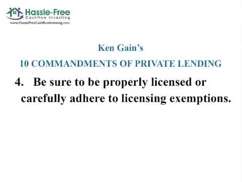nuts and bolts of private lending