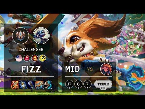Fizz Mid vs Zoe - NA Challenger Patch 10.15