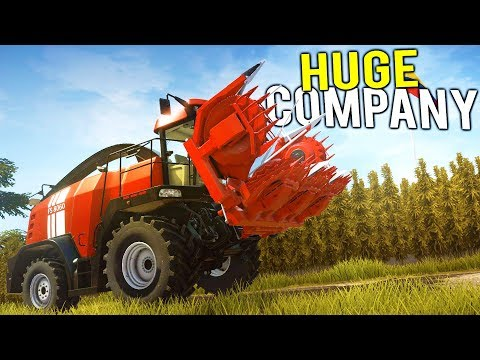THE MILLION DOLLAR COMPANY DREAM BEGINS HERE! - Pure Farming 2018 Full Release Gameplay