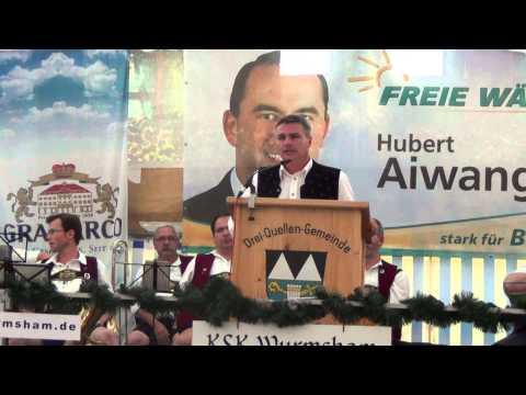 Politischer Montag der Freien Wähler Wurmsham Landrat Peter Dreier Teil 3