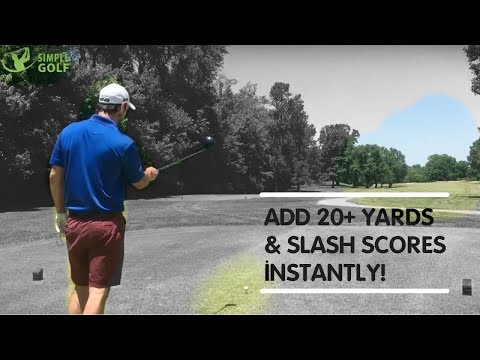 Golf | How To Increase Distance By 20 Yards and Cut Scores Instantly  (Really)
