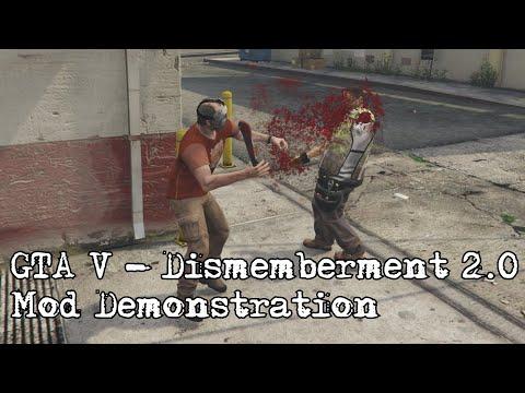 GTA V - Dismemberment\Gore 2.0 (Mod Demonstration)