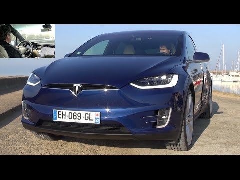 2017 tesla model x 90 d essai video aile dorado avis prix autonomie youtube. Black Bedroom Furniture Sets. Home Design Ideas